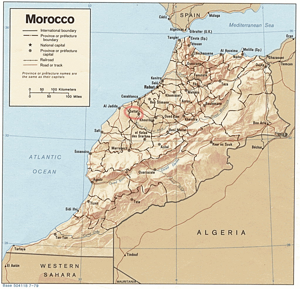 Африка марокко